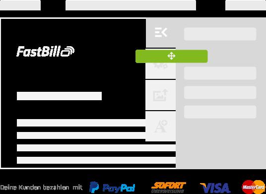 Rechnung schreiben online mit FastBill